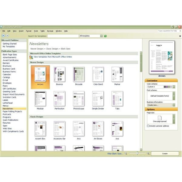 Microsoft Office Publisher Templates How to Create Publications with Templates In Microsoft