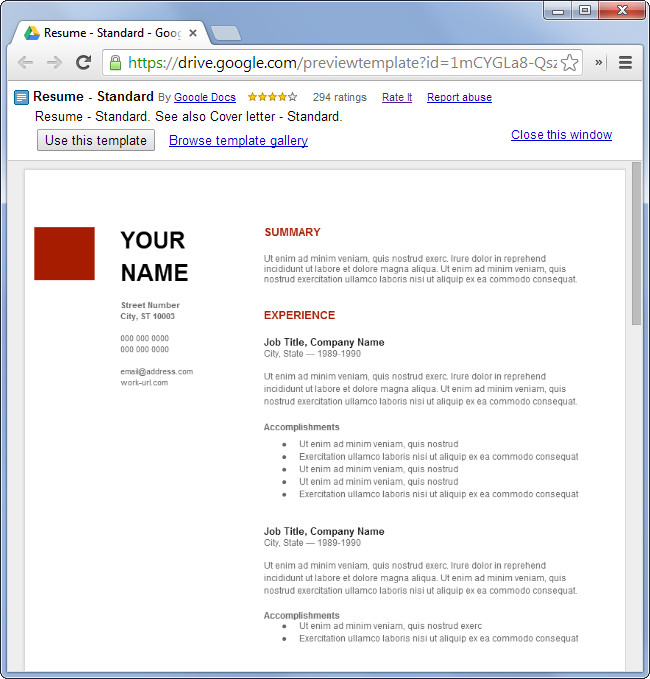 Microsoft Office Templates Resume How to Make A Resume for Free without Using Microsoft Fice