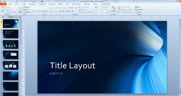 Microsoft Powerpoint Templates Free Download Free Tunnel Template for Microsoft Powerpoint 2013