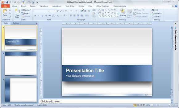 Microsoft Powerpoint Templates Free Download Powerpoint Template 2018 Free Download