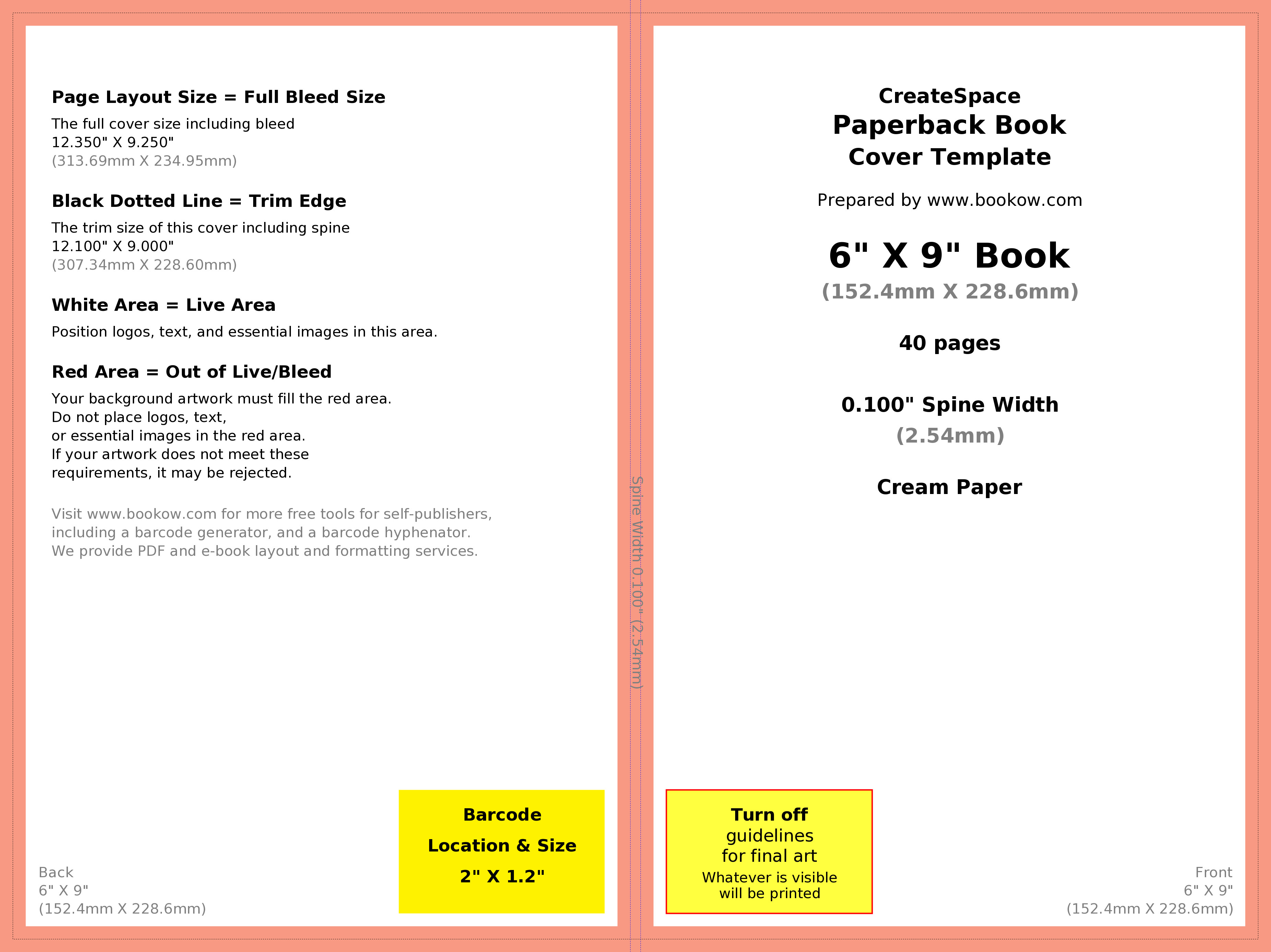 Microsoft Publisher Book Template How to Make Your Book's Print Cover Using Microsoft