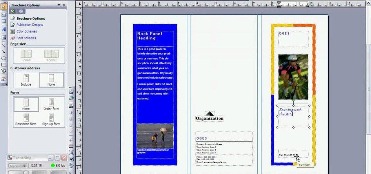 Microsoft Publisher Booklet Templates How to Create A Brochure In Microsoft Publisher