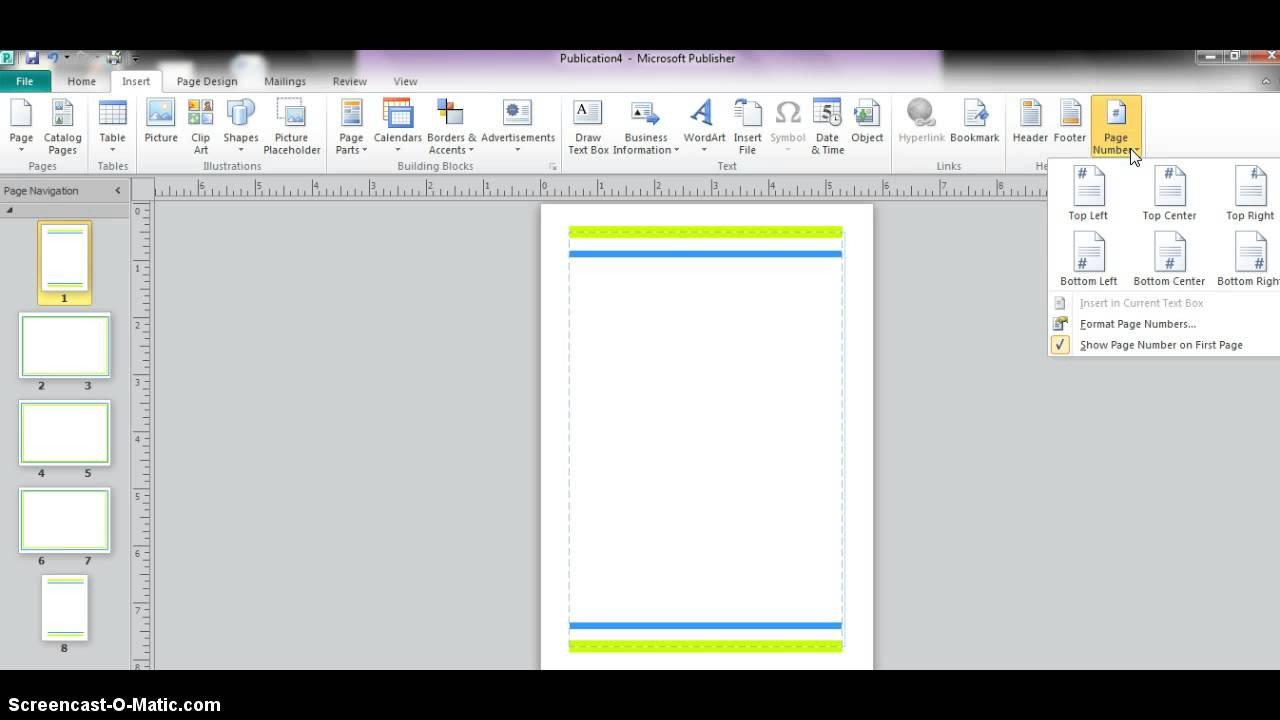 Microsoft Publisher Booklet Templates Microsoft Publisher Booklet