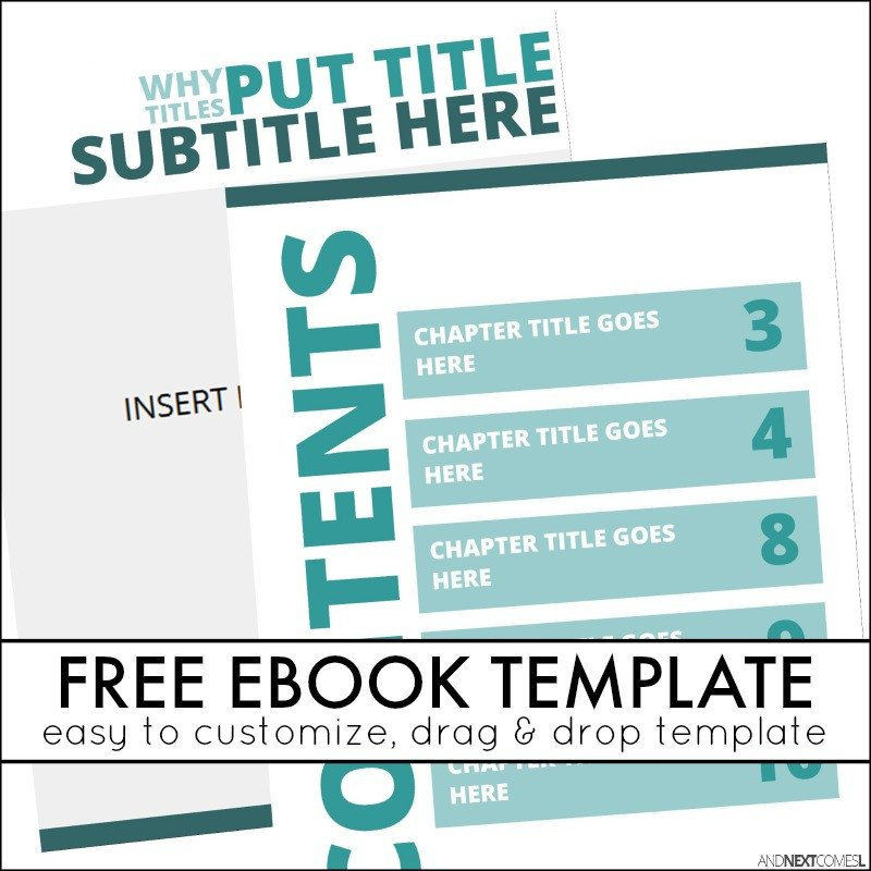 Microsoft Publisher Booklet Templates Simple Ebook Template