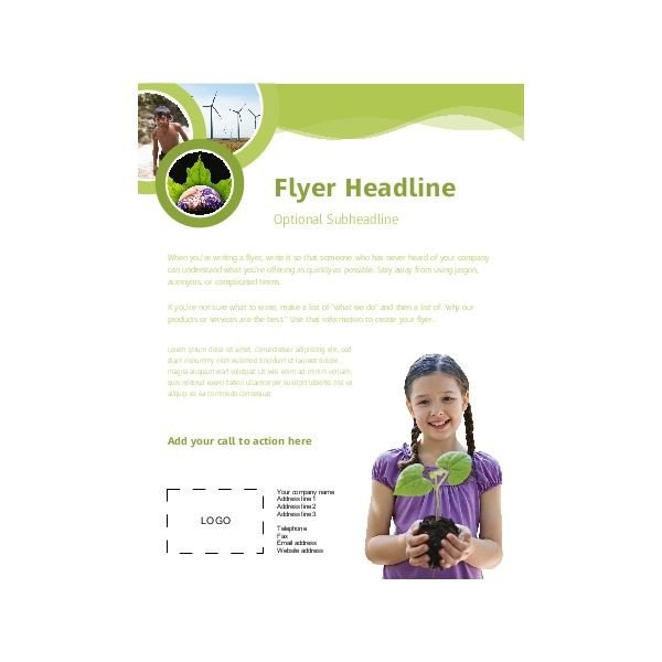 Microsoft Publisher Flyer Templates Free Templates for Microsoft Publisher Flyers