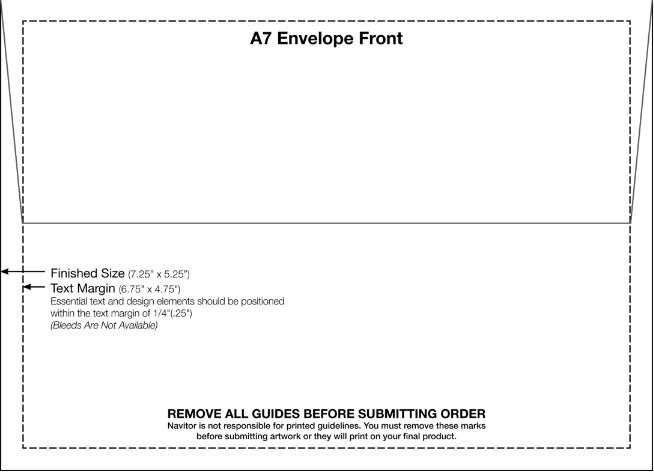 Microsoft Word A7 Envelope Template 4 Free Printable A7 Envelope Templates