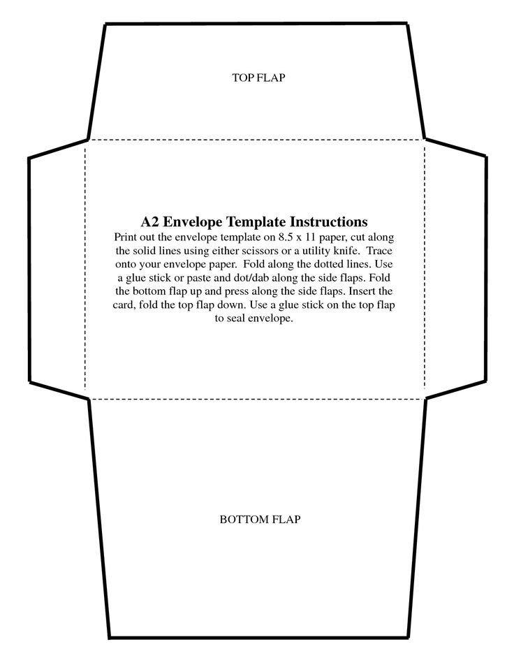 Microsoft Word A7 Envelope Template 5x7 Envelope Templates Ekariouq Paper Goods