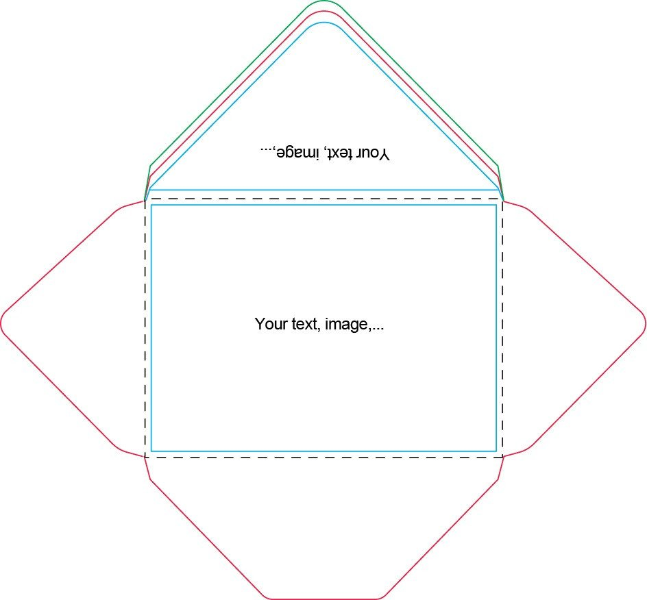 Microsoft Word A7 Envelope Template A7 Envelope Template