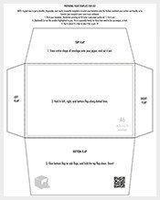 Microsoft Word A7 Envelope Template Envelope Template – 131 Free Printable Word Pdf Psd
