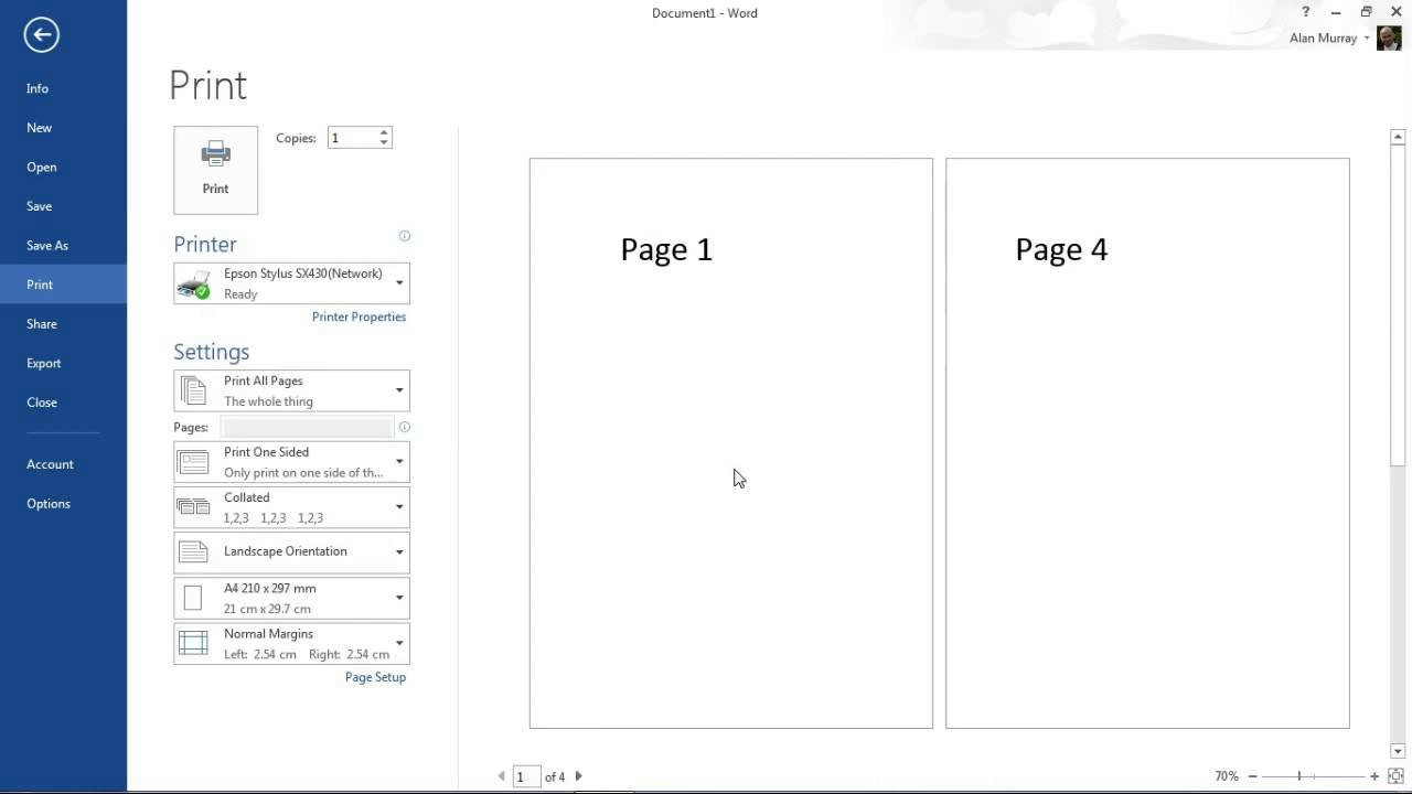 Microsoft Word Book Template How to Create A Booklet In Microsoft Word