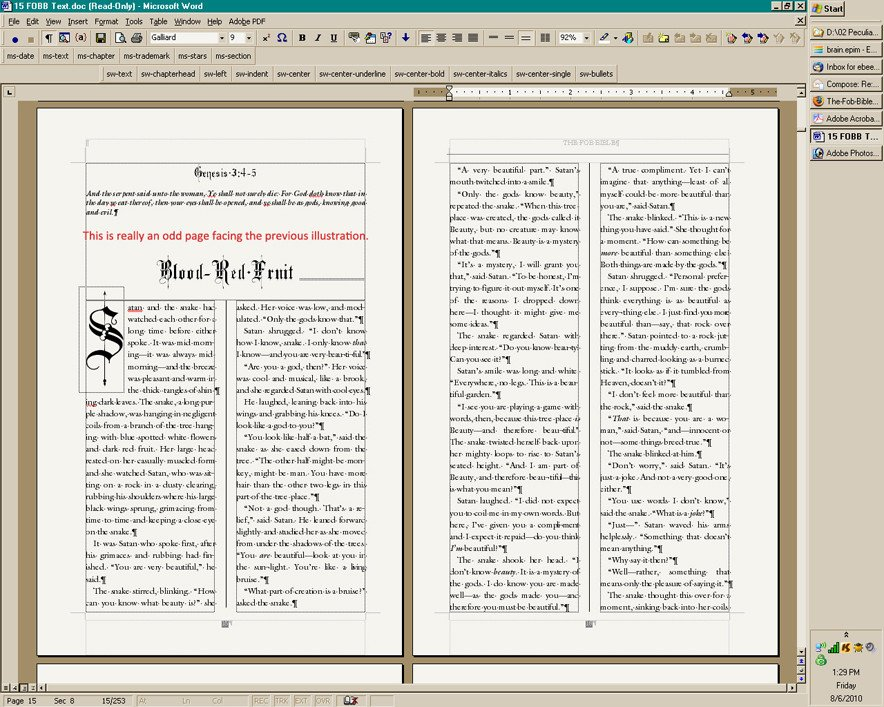 Microsoft Word Book Templates 13 Best S Of Book Layout Microsoft Word Free Word