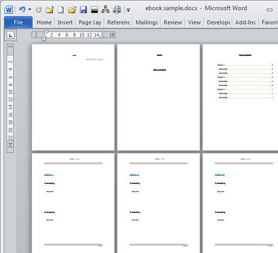 Microsoft Word Book Templates Book Template Category Page 1 Dahkai