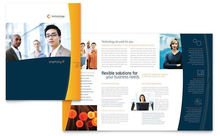 Microsoft Word Brochure Template Free Free Brochure Template Download Word & Publisher Templates