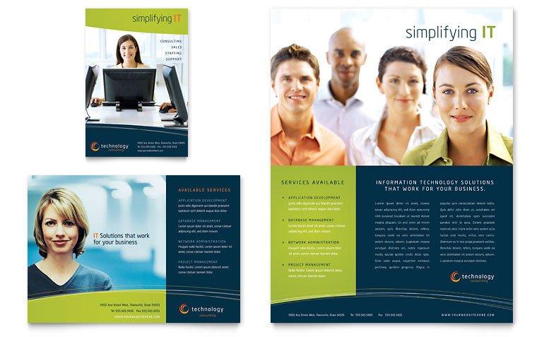 Microsoft Word Brochure Template Free Free Flyer Template Download Word & Publisher Templates