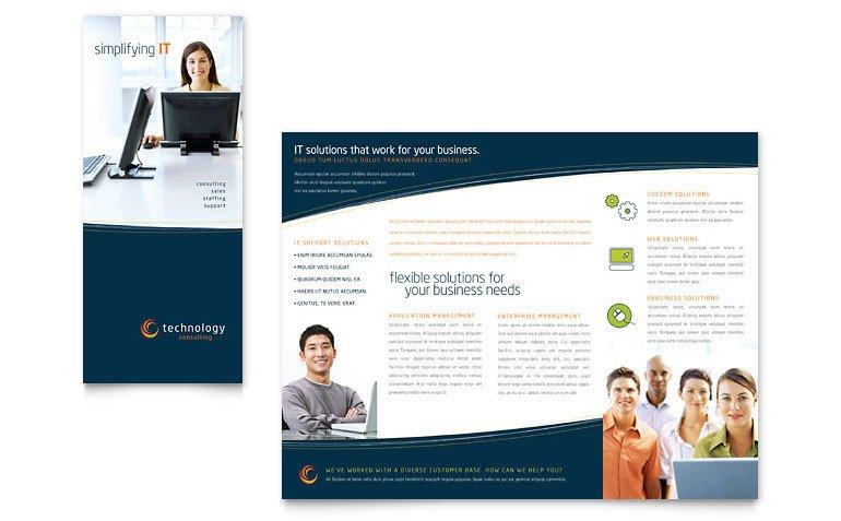 Microsoft Word Brochure Template Free Free Tri Fold Brochure Template Download Word