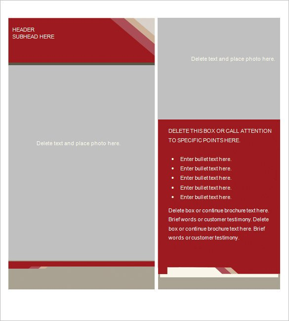 Microsoft Word Brochure Template Free Microsoft Brochure Template 49 Free Word Pdf Ppt