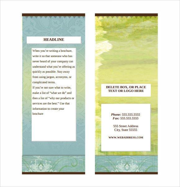 Microsoft Word Brochure Template Free Sample Microsoft Brochure 6 Documents In Word