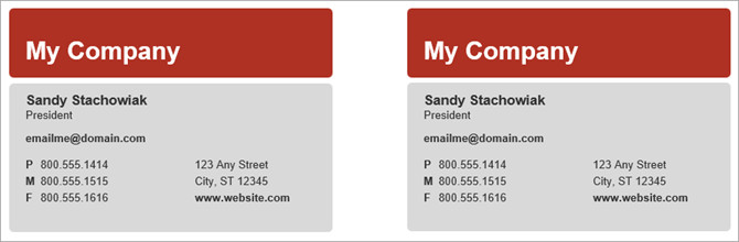 Microsoft Word Business Card Template How to Make Free Business Cards In Microsoft Word with