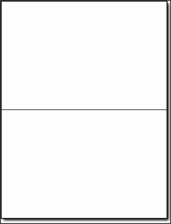 Microsoft Word Card Template 8 Half Fold Card Template Microsoft Word