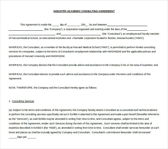 Microsoft Word Contract Template 10 Microsoft Word Contract Templates Free Download
