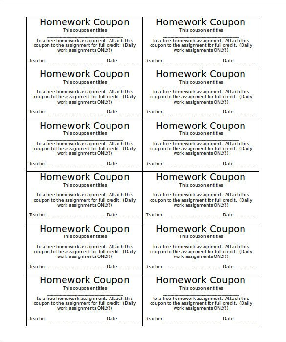 Microsoft Word Coupon Template 12 Coupon Templates Doc Excel Pdf Ai Illustrator