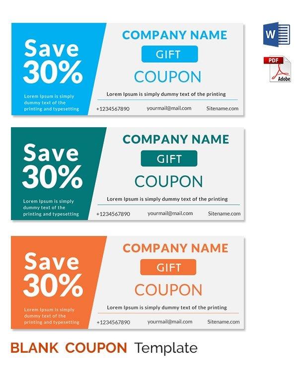 Microsoft Word Coupon Template Blank Coupon Templates – 26 Free Psd Word Eps Jpeg