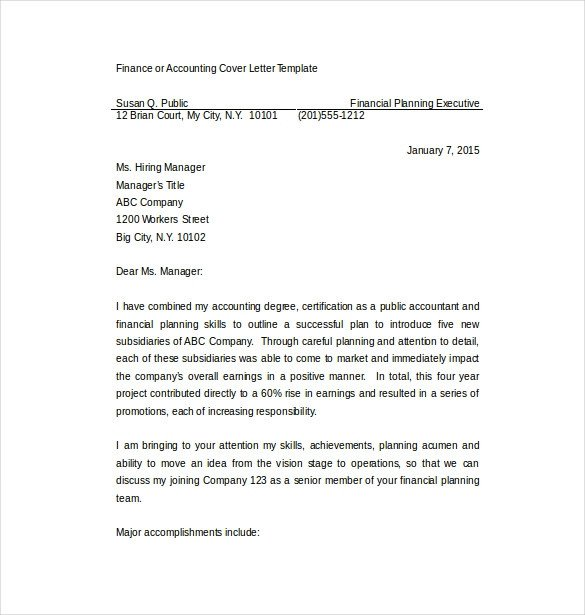 Microsoft Word Cover Letter Template 7 Employment Cover Letter Templates Free Sample