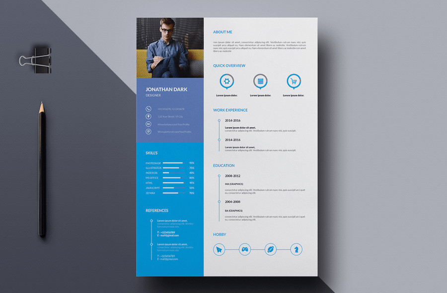 Microsoft Word Design Templates 50 Best Resume Templates for Word that Look Like Shop