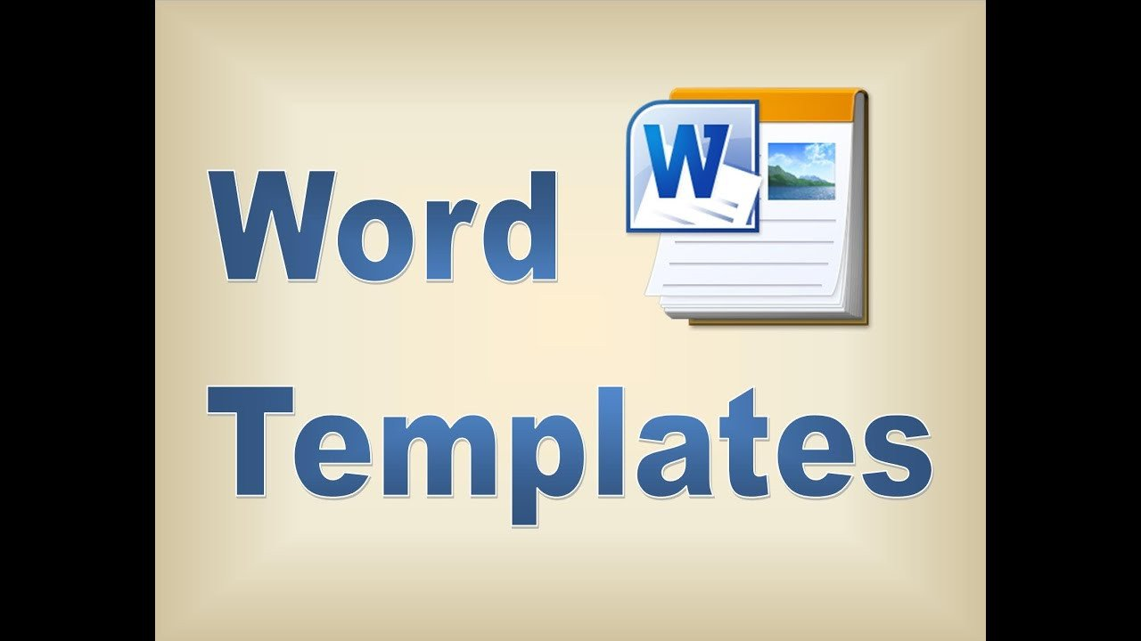 Microsoft Word Free Templates Making Templates In Microsoft Word