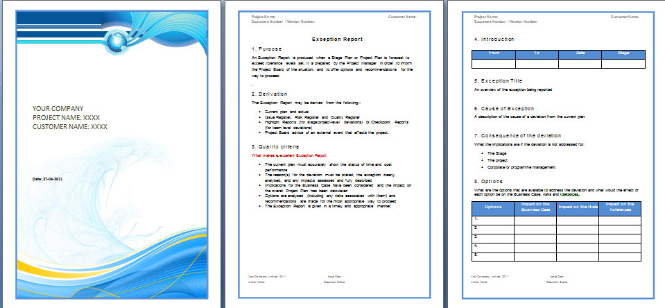 Microsoft Word Free Templates Report Template – Microsoft Word Templates