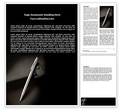 Microsoft Word Journal Templates Pen and Diary Word Template