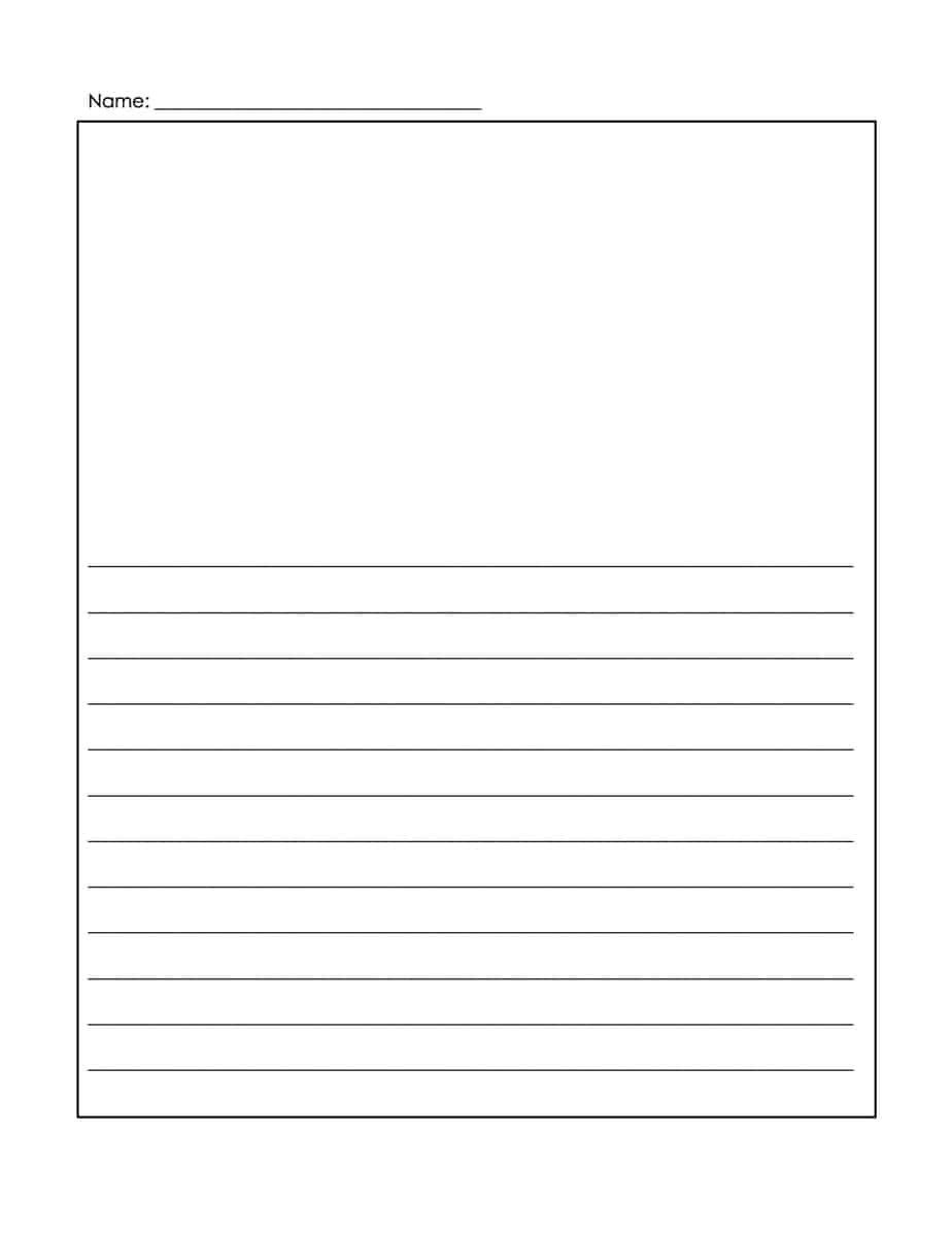 Microsoft Word Lined Paper Template 14 Lined Paper Templates Excel Pdf formats
