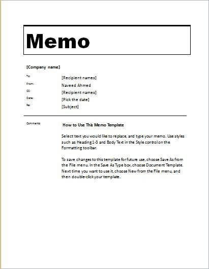 Microsoft Word Memorandum Template 24 Free Editable Memo Templates for Ms Word