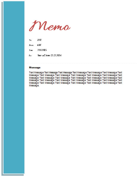 Microsoft Word Memorandum Template Memo Template Templates for Microsoft Word