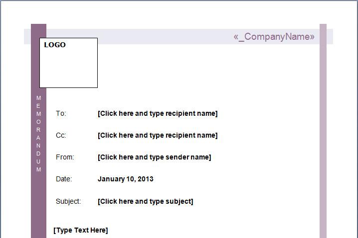 Microsoft Word Memorandum Template Mou Memo Template Microsoft Word Templates