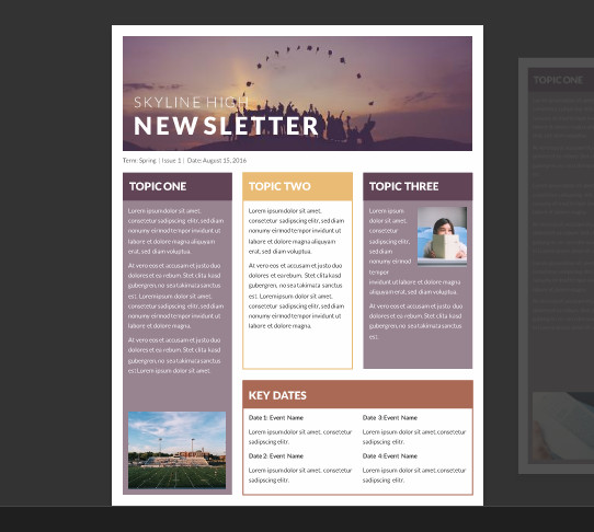 Microsoft Word Newsletter Templates Free 15 Free Microsoft Word Newsletter Templates for Teachers
