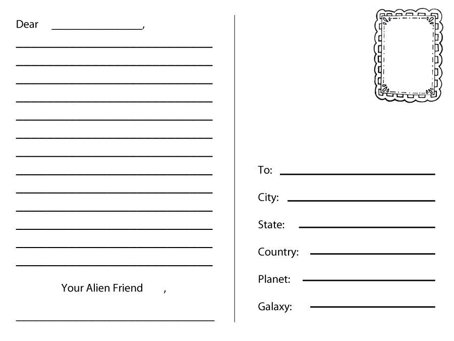 Microsoft Word Postcard Template 40 Great Postcard Templates & Designs [word Pdf]