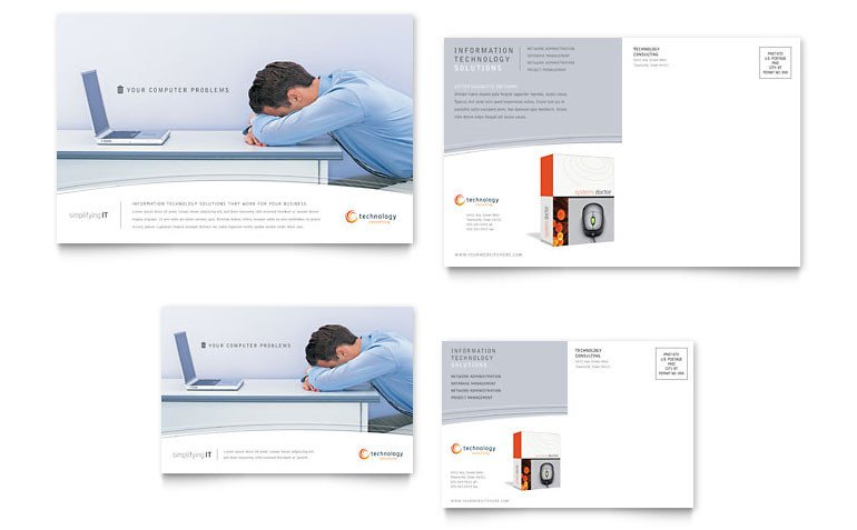 Microsoft Word Postcard Template Free Postcard Template Download Word & Publisher Templates