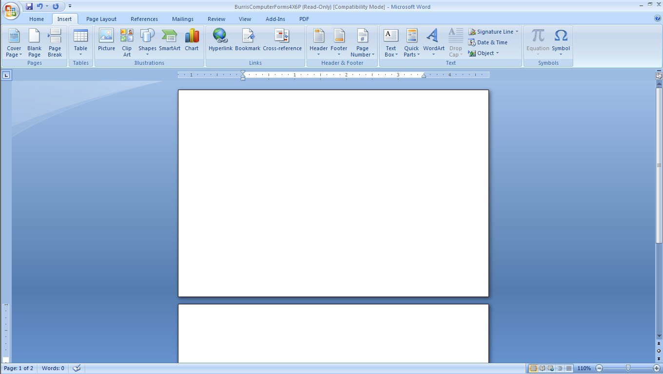 Microsoft Word Postcard Template How to Create and Print Your Own Postcards Burris