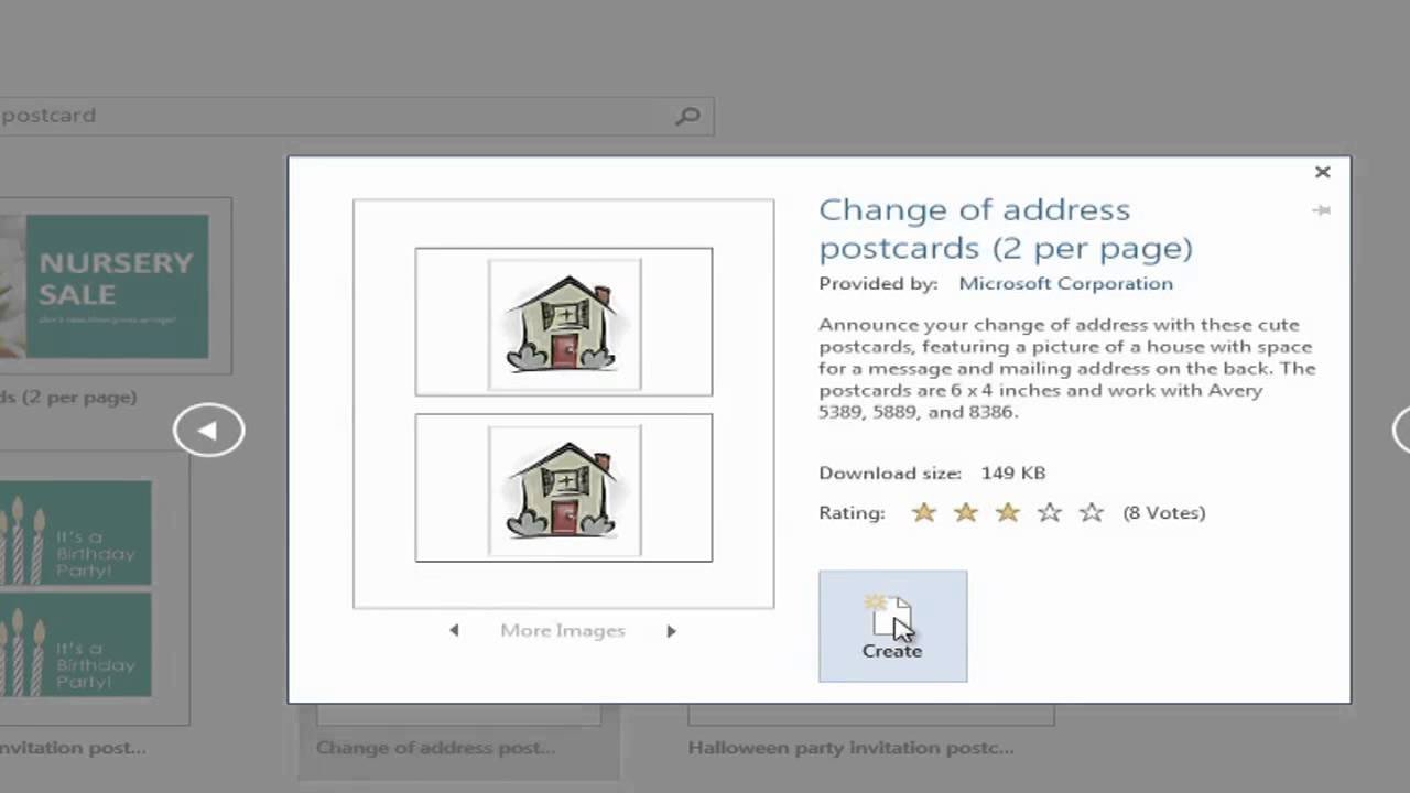 Microsoft Word Postcard Template How to Create Postcards with Microsoft Word Using