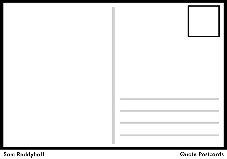 Microsoft Word Postcard Template Postcard Template Word