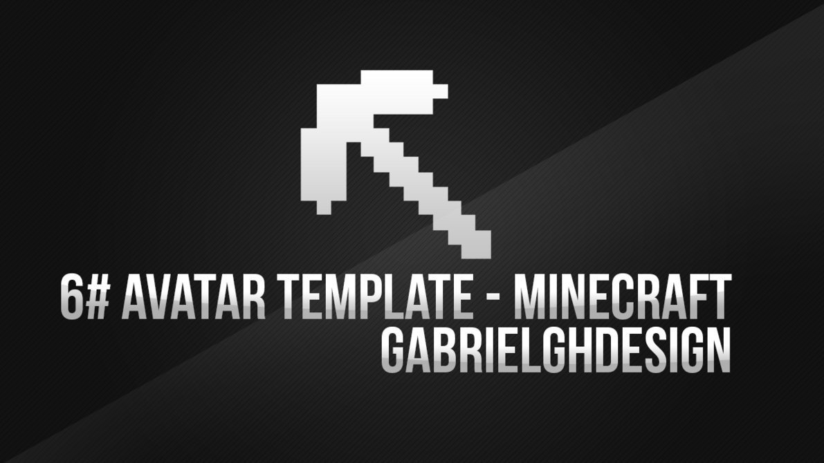 Minecraft Avatar Template Avatar Template Minecraft by Gabrielgh On Deviantart
