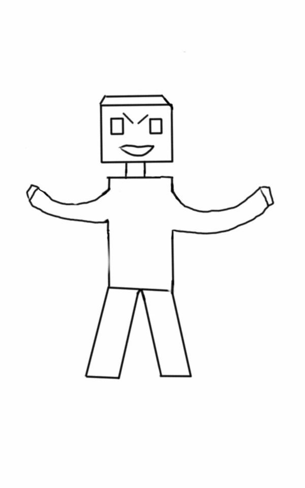 Minecraft Avatar Template Minecraft Avatar Template by Riki190 On Deviantart