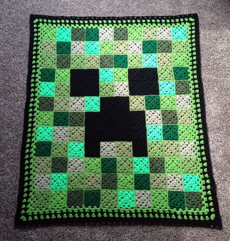 Minecraft Creeper Pattern Printable 17 Best Ideas About Minecraft Crochet On Pinterest