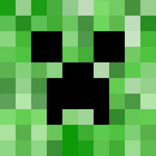 Minecraft Creeper Pattern Printable Minecraft Birthday Party Enderman Pinata