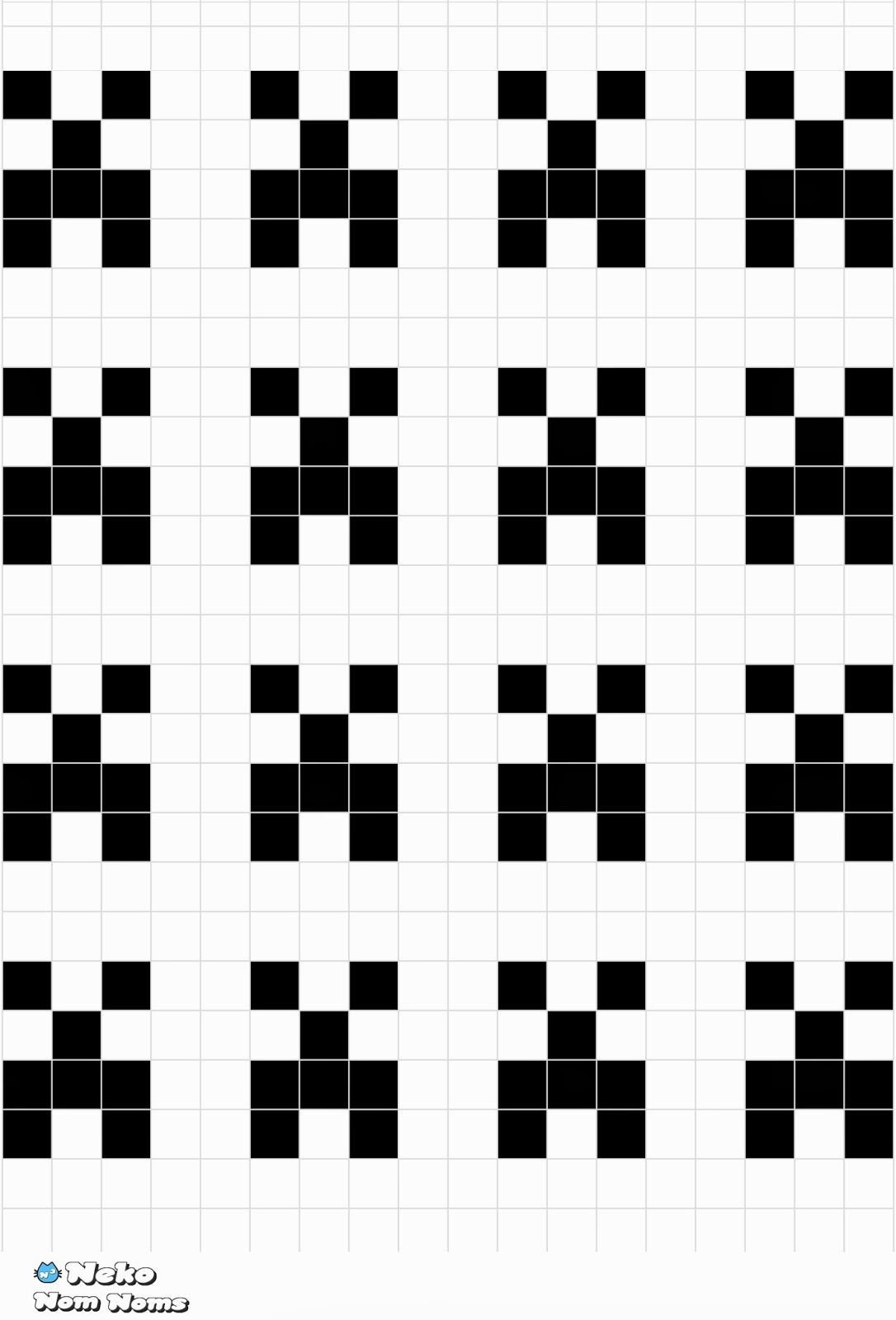 Minecraft Creeper Pattern Printable Minecraft Creeper Face Template