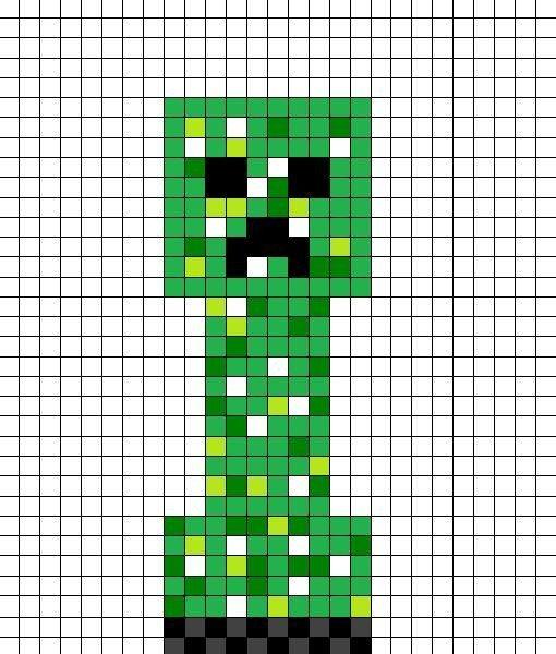 Minecraft Creeper Pattern Printable Minecraft Creeper Pattern by Kakashi Copycat Kun