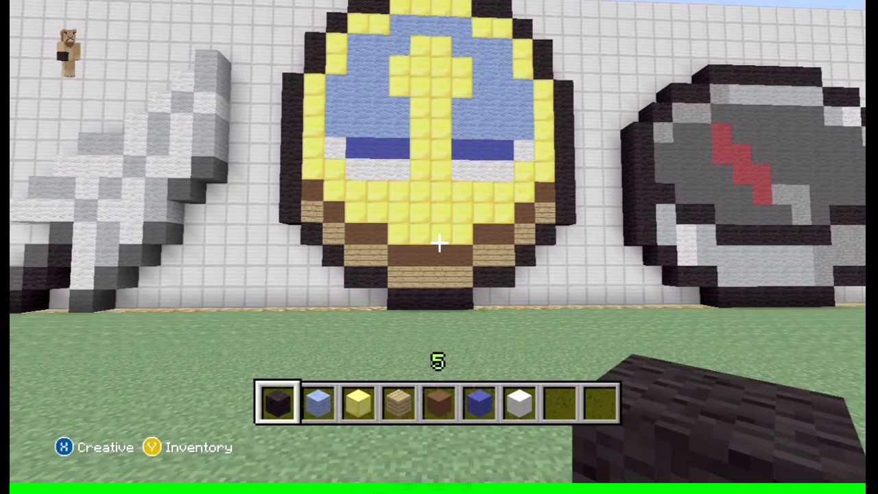 Minecraft Easy Pixel Art Minecraft Clock Pixel Art Easy Tutorial