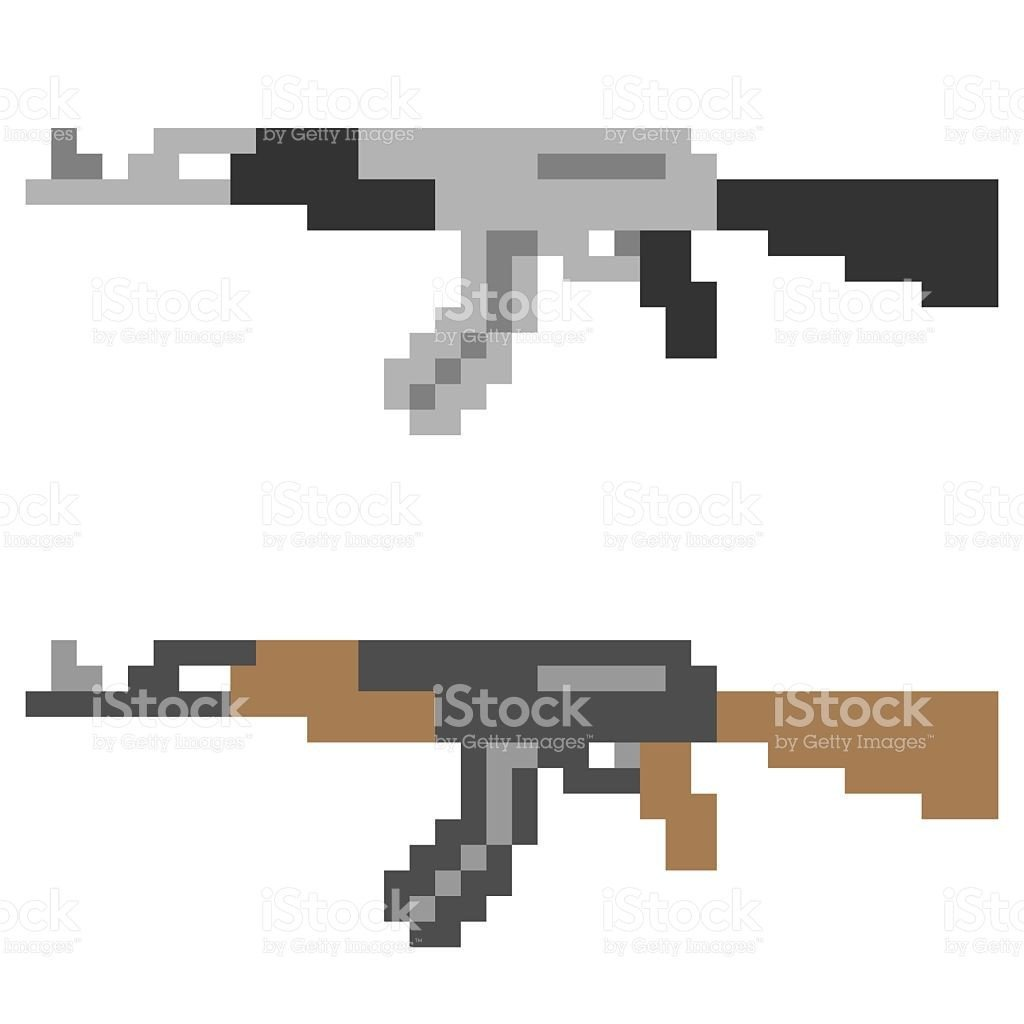 Minecraft Gun Pixel Art Épinglé Par Kirsten Taylor Sur Minecraft Perlem Bead