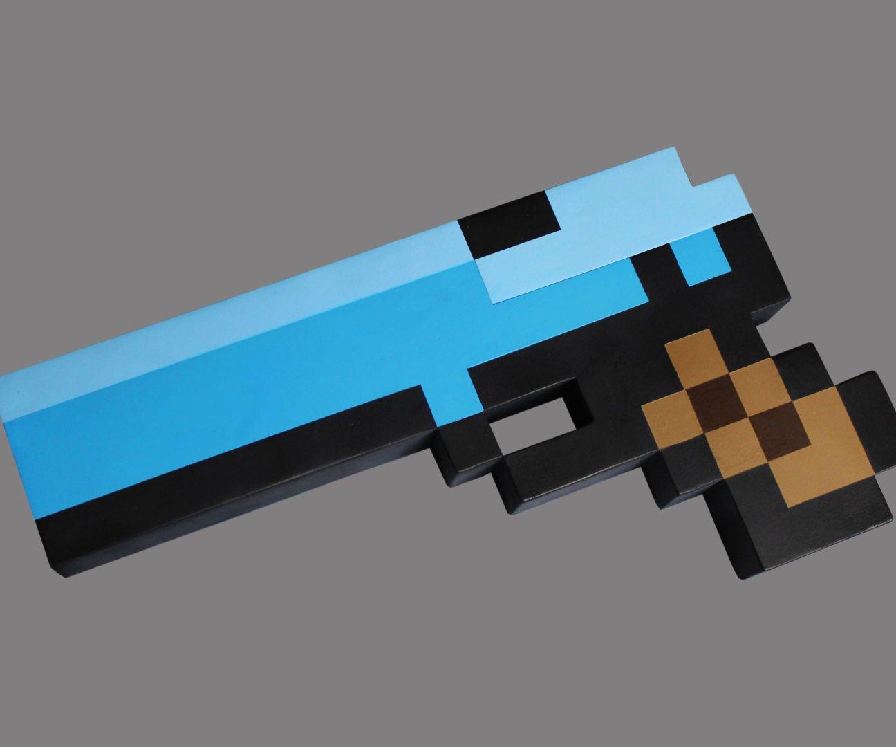 Minecraft Gun Pixel Art Pixel Minecraft Nerf